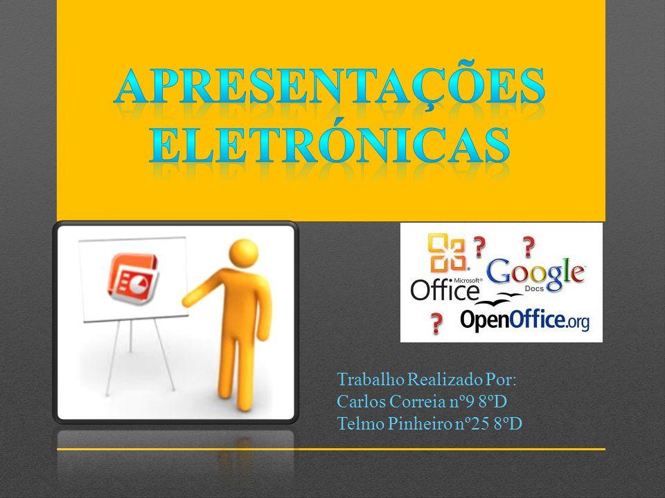 Trabalho Realizado Por: Carlos Correia nº9 8ºD Telmo Pinheiro nº25 8ºD