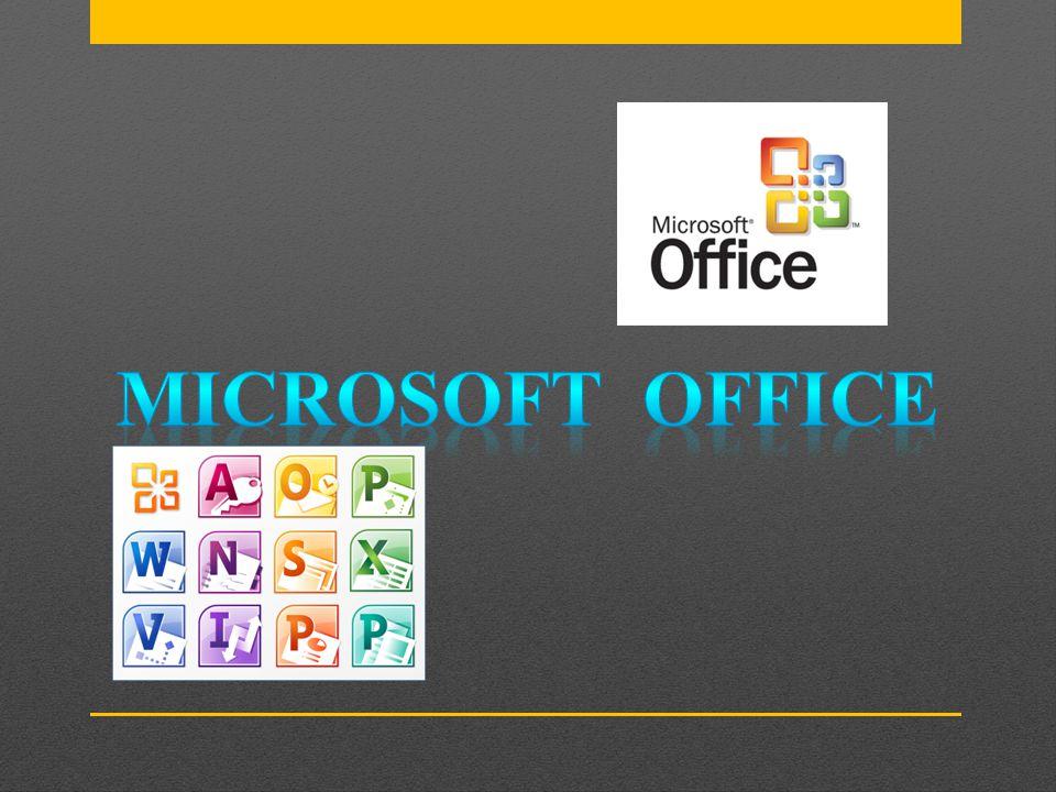 A Microsoft Office foi lançada pela Microsoft em 1989 para a Apple Macintosh, e em 1990 foi seguido por uma versão para Windows.