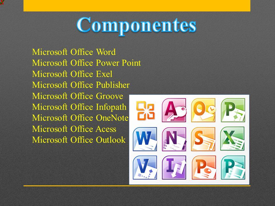 Microsoft Word Microsoft Excel Microsoft PowerPoint OpenDocument Format Adobe Portable Document Format Páginas Apple Adobe Illustrator Adobe Photoshop Tagged Image File Format Autodesk AutoCad Scalable Vector Graphics PostScript TrueType XML Paper Specification
