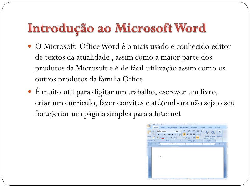 O Word foi criado por Richard Brodie para computadores IBM PC com sistema operacional DOS em 1983.