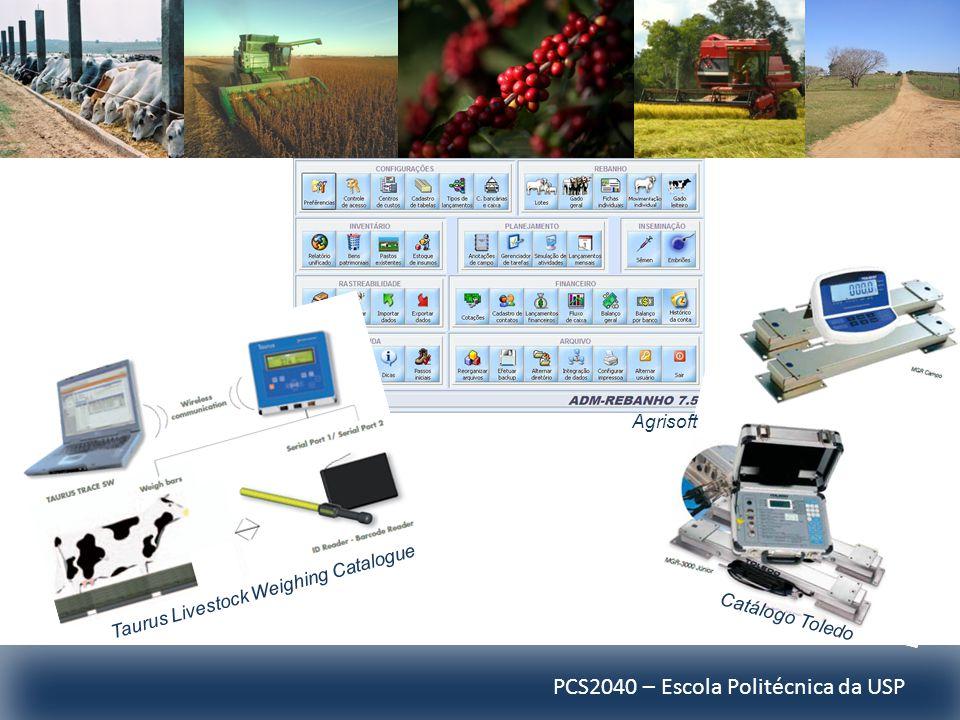 PCS2040 – Escola Politécnica da USP Taurus Livestock Weighing Catalogue Catálogo Toledo Agrisoft