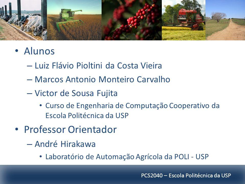 PCS2040 – Escola Politécnica da USP Alunos – Luiz Flávio Pioltini da Costa Vieira – Marcos Antonio Monteiro Carvalho – Victor de Sousa Fujita Curso de