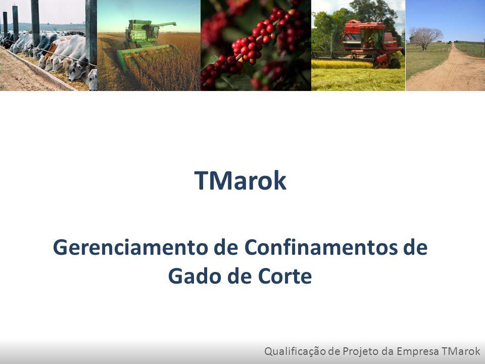 Qualificação de Projeto da Empresa TMarok TMarok Gerenciamento de Confinamentos de Gado de Corte