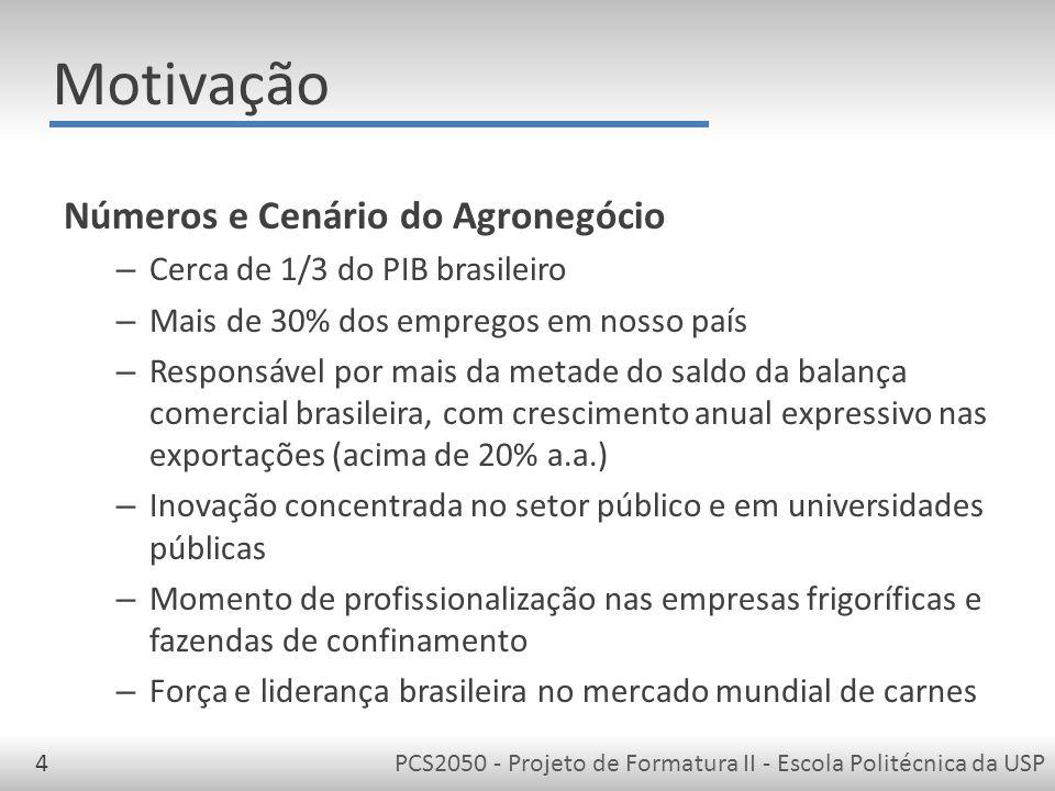 PCS2050 - Projeto de Formatura II - Escola Politécnica da USP15 Blog de Apresentação do Projeto http://gerenciaconfinamento.wordpress.com/