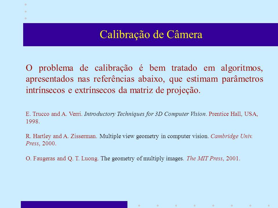 Classificação de Objetos A classificação de objetos visa identificar pontos, objetos ou regiões nas imagens que serão referências para o processo de encontrar pontos correspondentes.
