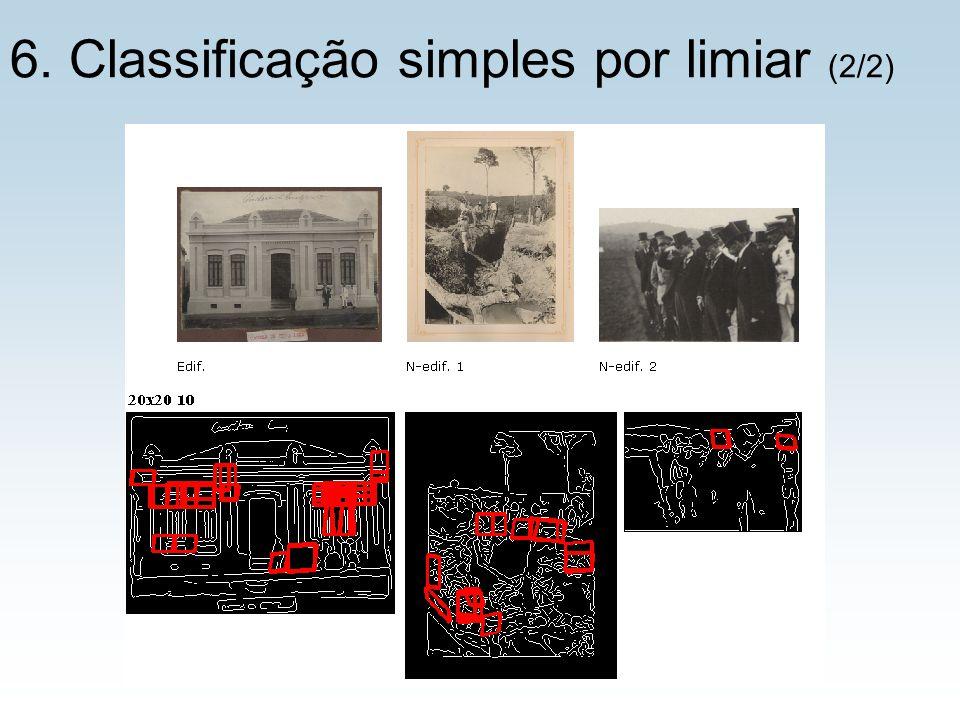 6. Classificação simples por limiar (2/2)