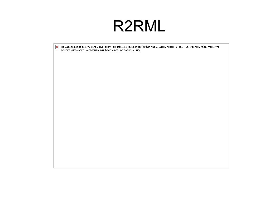 Também propomos uma abordagem onde o mapeamento R2RML é derivado de assertivas de correspondência.