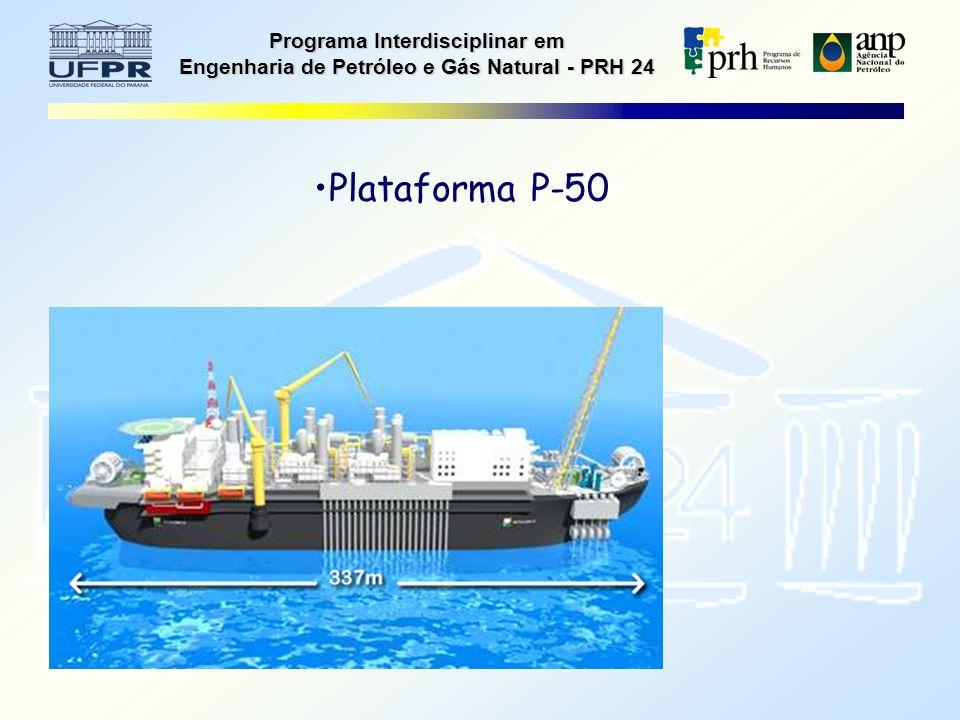 Programa Interdisciplinar em Engenharia de Petróleo e Gás Natural - PRH 24 Plataforma P-50