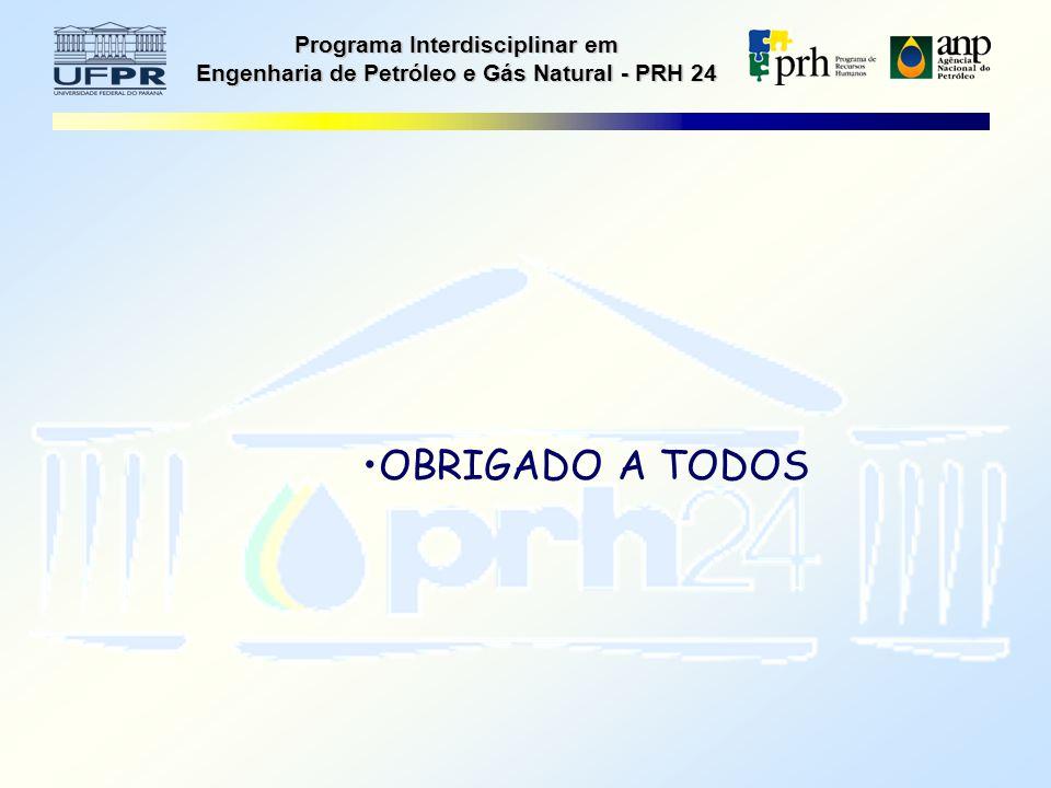 Programa Interdisciplinar em Engenharia de Petróleo e Gás Natural - PRH 24 OBRIGADO A TODOS