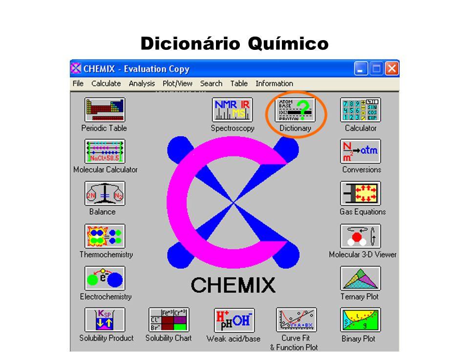 Dicionário Químico