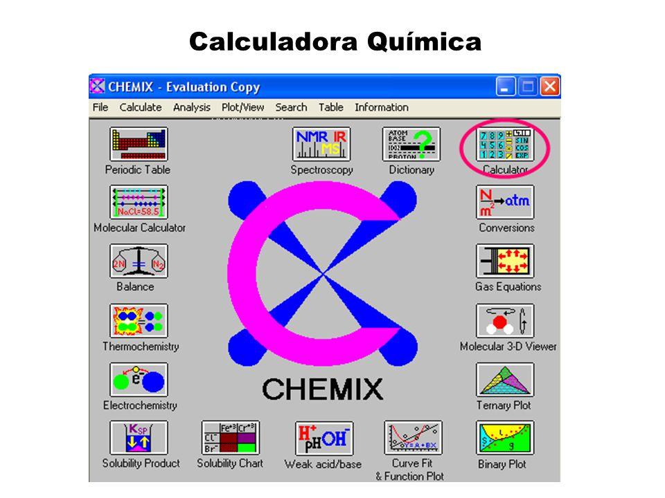 Calculadora Química