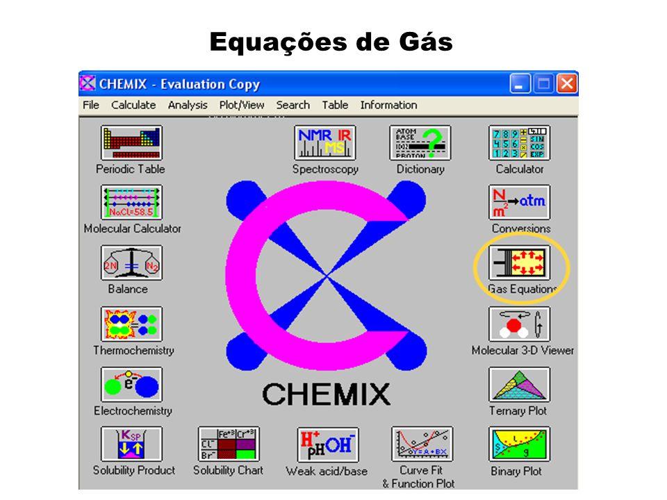 Equações de Gás