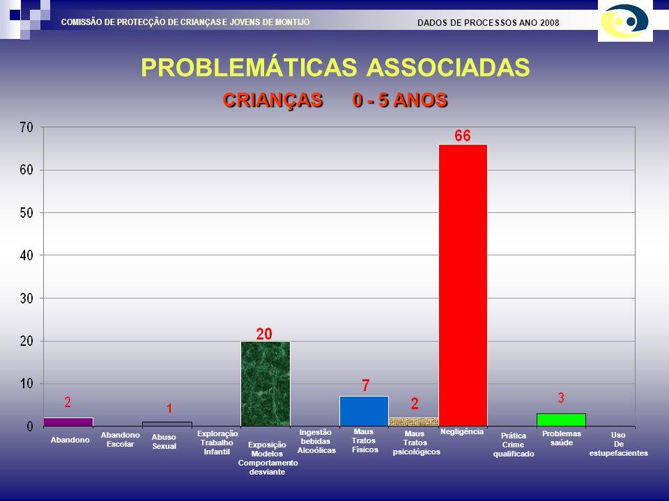 TIPO DE ENSINO CARACTERIZAÇÃO DA CRIANÇA / JOVEM DADOS DE PROCESSOS ANO 2008 COMISSÃO DE PROTECÇÃO DE CRIANÇAS E JOVENS DE MONTIJO