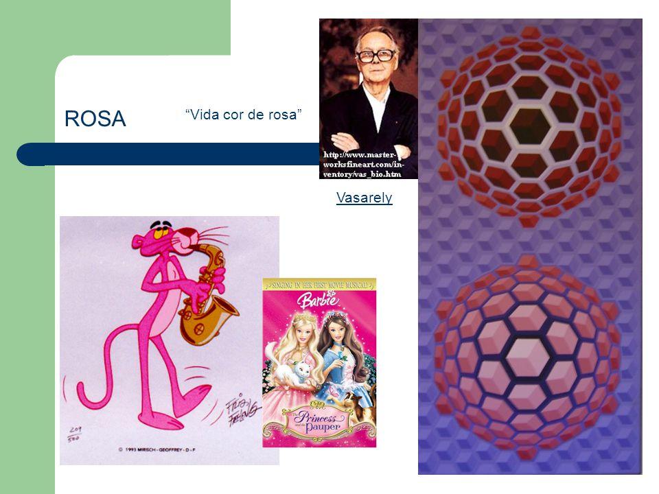 """ROSA """"Vida cor de rosa"""" Vasarely"""