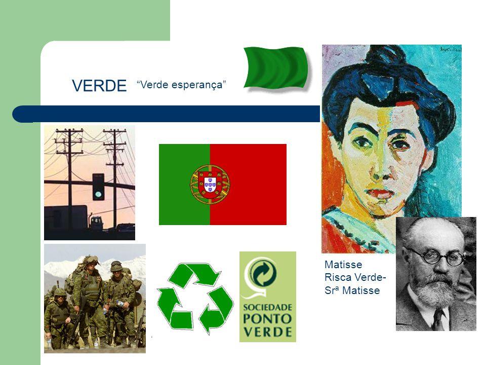 "VERDE ""Verde esperança"" Matisse Risca Verde- Srª Matisse"