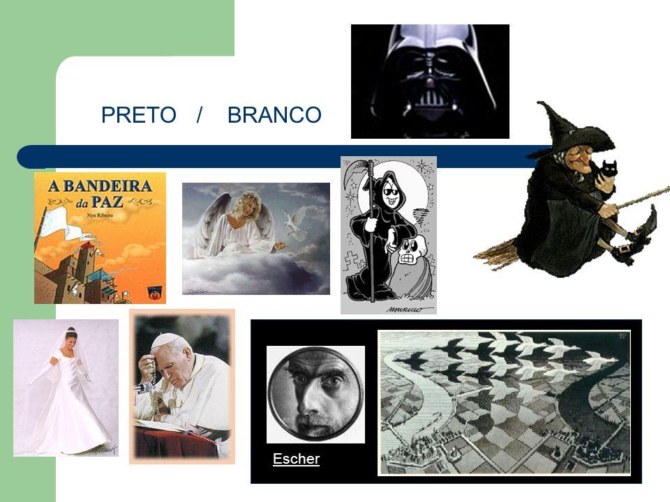 PRETO / BRANCO Escher