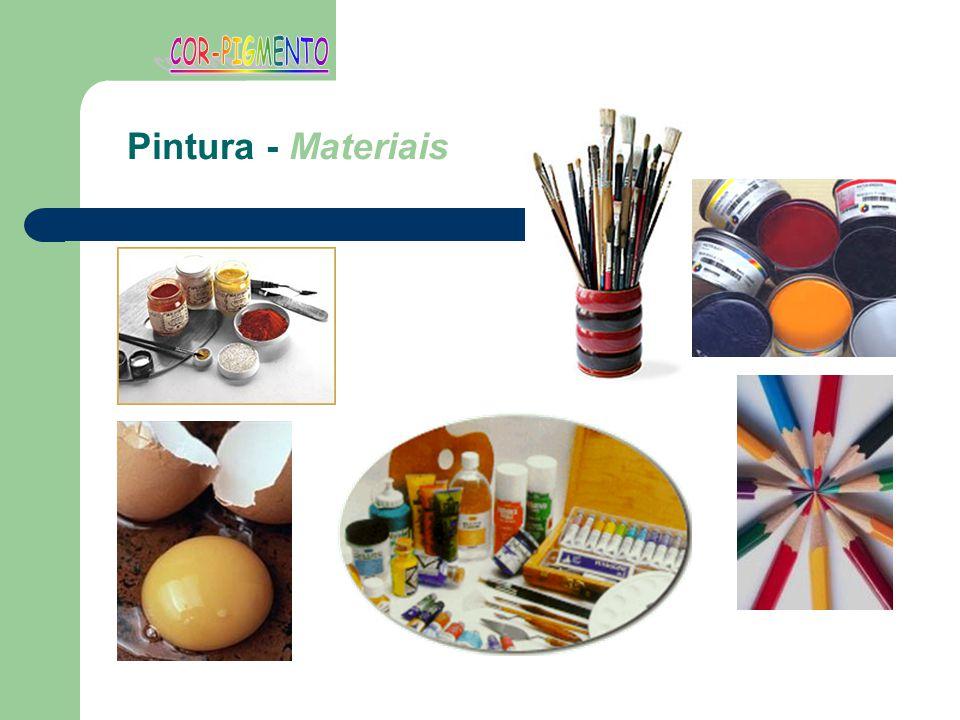 Pintura - Materiais