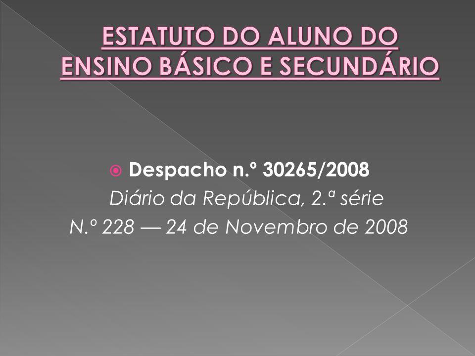  Despacho n.º 30265/2008 Diário da República, 2.ª série N.º 228 — 24 de Novembro de 2008