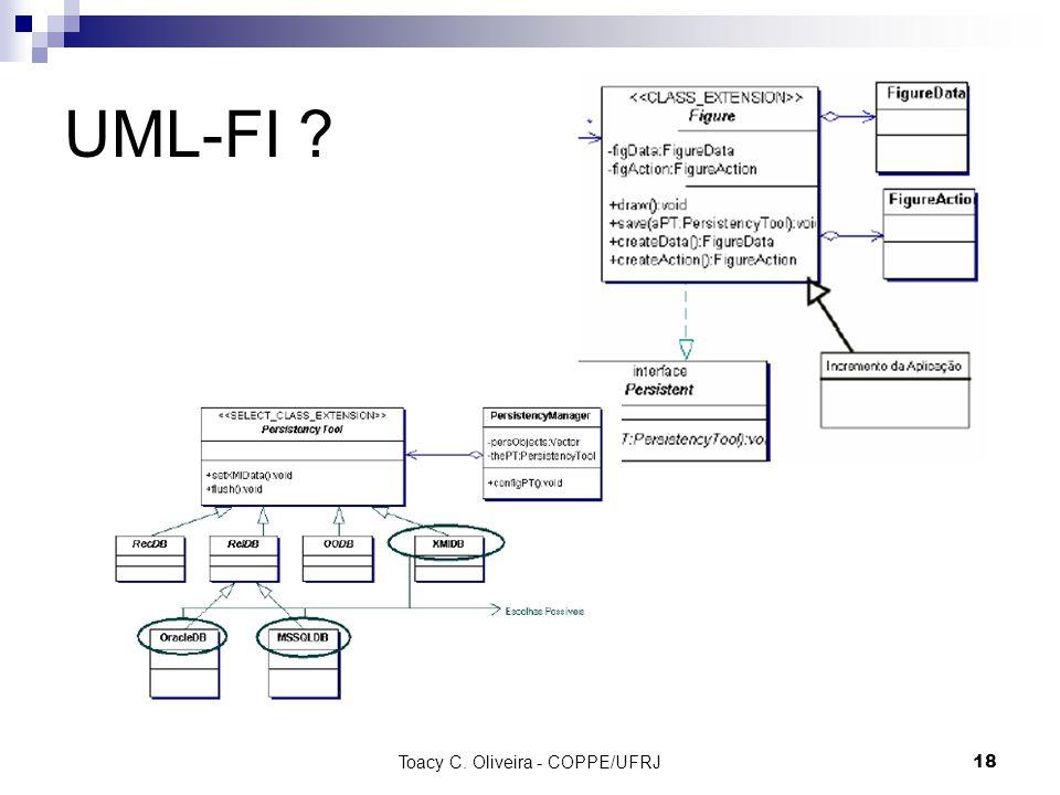 Toacy C. Oliveira - COPPE/UFRJ 18 UML-FI