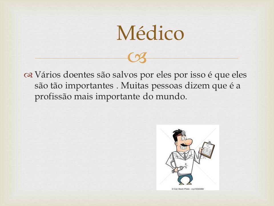   Os médicos aconselham varias medicamentos para ajudar os pasientes a ficarem melhor.