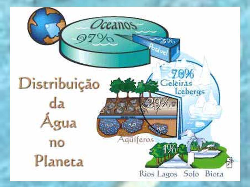 CAUSAS DO COMPROMETIMENTO DOS RECURSOS H Í DRICOS - crescimento populacional  produzir mais alimento  uso cada vez maior da agricultura irrigada - uso e manejo inadequado dos recurso hídricos  rebaixamento e contaminação dos aqüíferos - setores produtivos (principalmente a agricultura) - salinização do solo, em regiões mais secas - utilização de água subterrânea de forma insustent á vel  esvaziamento do lençol freático