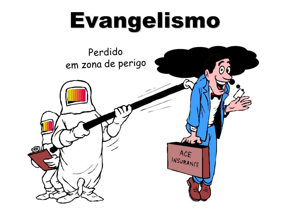 Perdido em zona de perigo Evangelismo