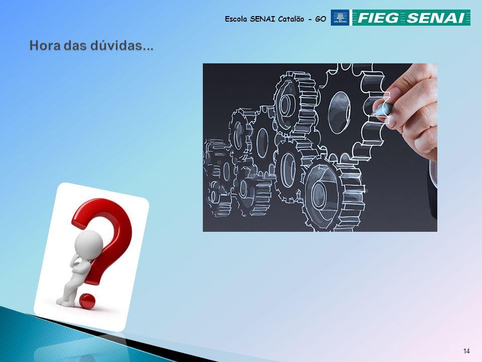 13 Escola SENAI Catalão - GO RODÍZIO DOS PNEUS Rodízio dos pneus é o nome dado ao ato de inverter a ordem de rodagem dos pneus entre os eixos dianteir