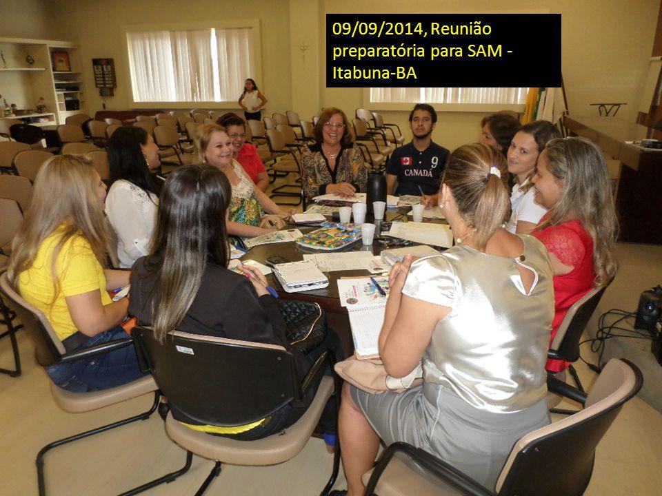 09/09/2014, Reunião preparatória para SAM - Itabuna-BA