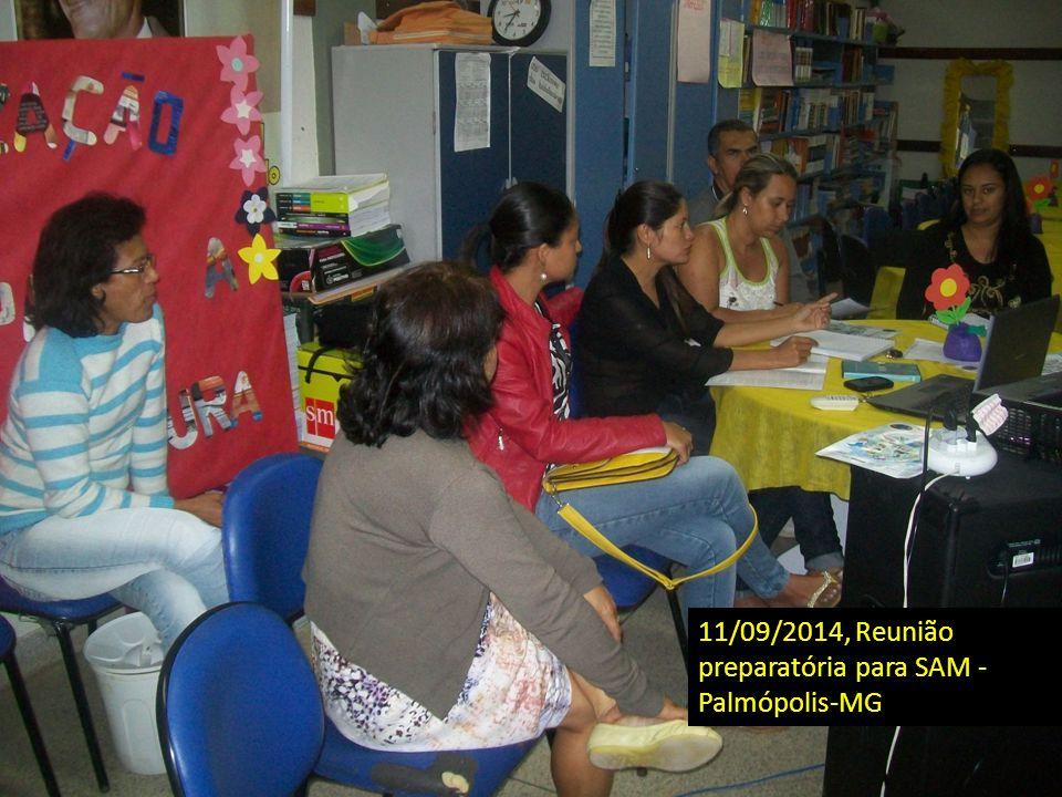 11/09/2014, Reunião preparatória para SAM - Palmópolis-MG