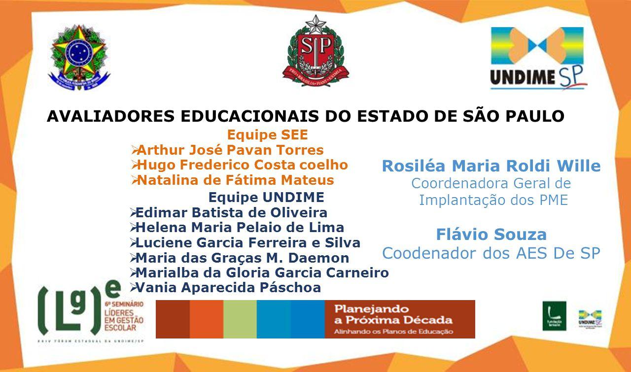 Equipe UNDIME  Edimar Batista de Oliveira  Helena Maria Pelaio de Lima  Luciene Garcia Ferreira e Silva  Maria das Graças M.