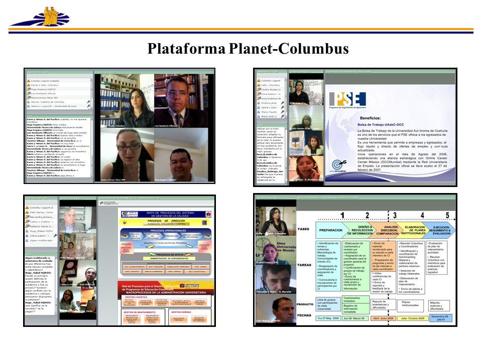 Plataforma Planet-Columbus