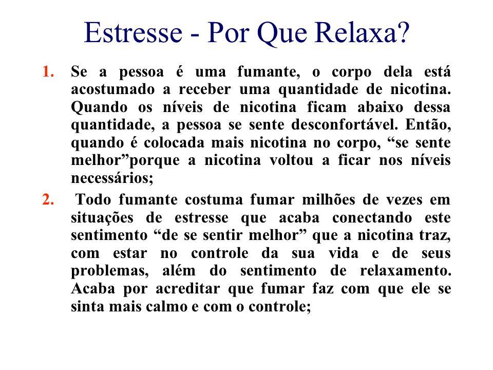 Estresse - Por Que Relaxa.