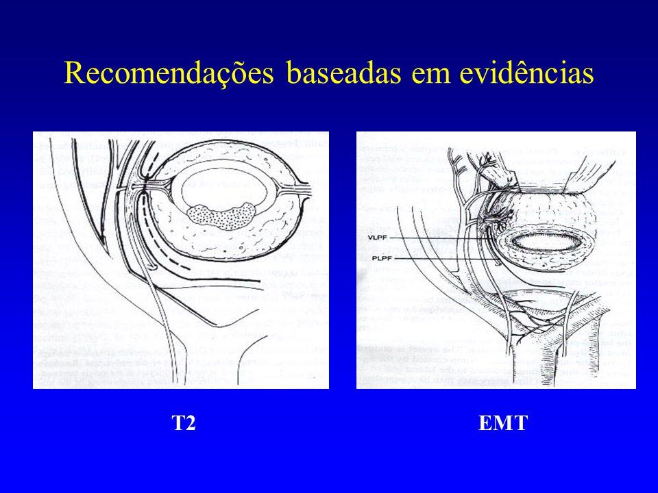 Recomendações baseadas em evidências EMT T2