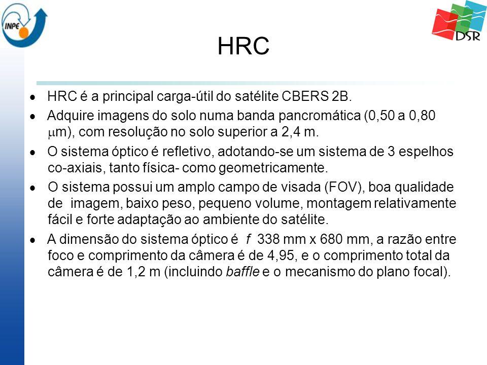 HRC  HRC é a principal carga-útil do satélite CBERS 2B.