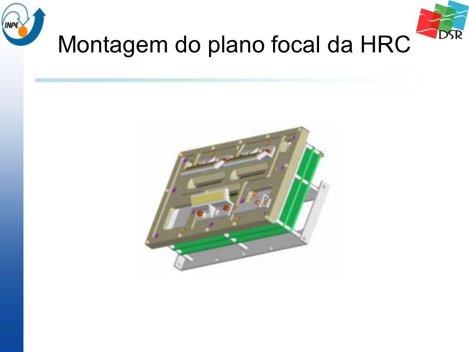Montagem do plano focal da HRC
