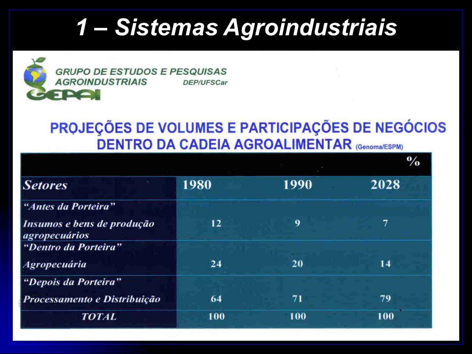 1 – Sistemas Agroindustriais