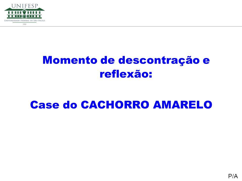 Reitoria Secretaria de Planejamento Momento de descontração e reflexão: Case do CACHORRO AMARELO P/A