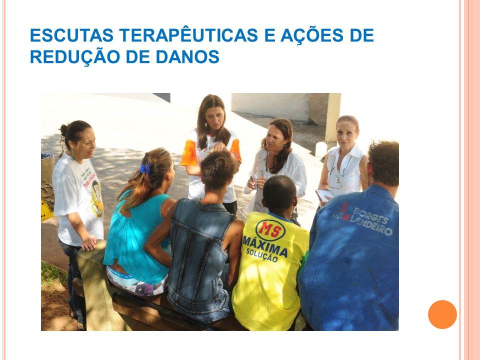 ESCUTAS TERAPÊUTICAS E AÇÕES DE REDUÇÃO DE DANOS