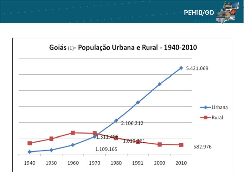 O PIB de Goiás, em 2010, atingiu o valor de R$ 97,576 bilhões, com um incremento de R$ 11,961 bilhões sendo este o maior incremento desde 1995.