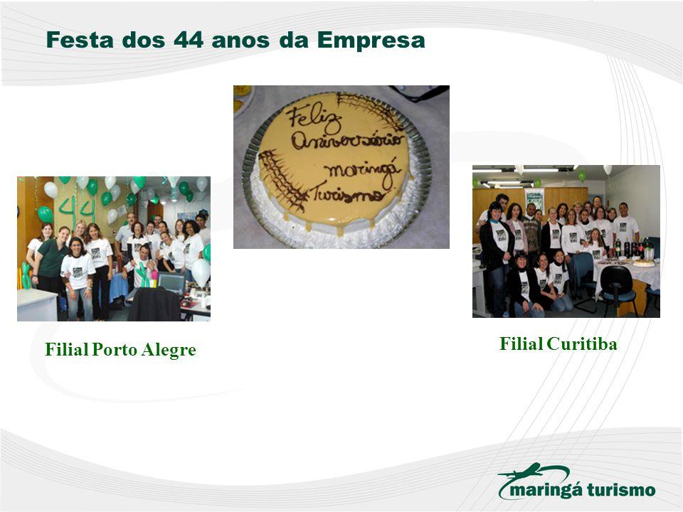 Festa dos 44 anos da Empresa Filial Porto Alegre Filial Curitiba