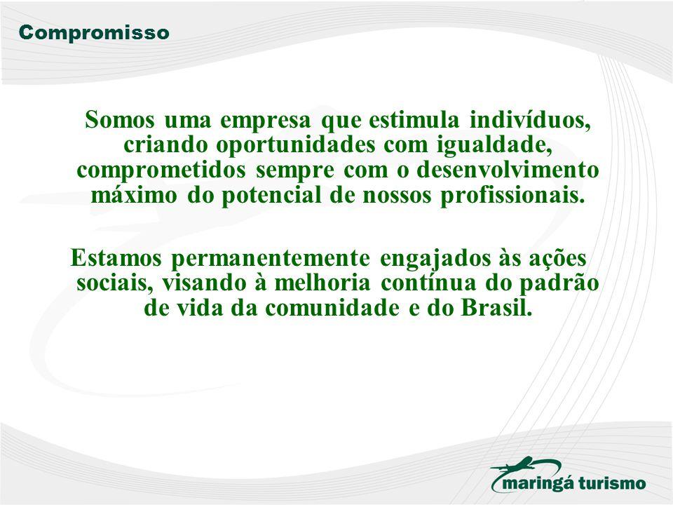 Missão Nossa missão é ser a melhor consultoria de viagens de negócios, turismo, viagens de incentivo e eventos atuante no mercado brasileiro. Nosso co
