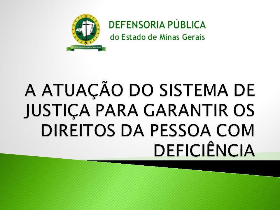 A Defensoria Pública é a instituição com previsão constitucional para prestar assistência jurídica integral às pessoas que não têm condições financeiras para pagar por um advogado.