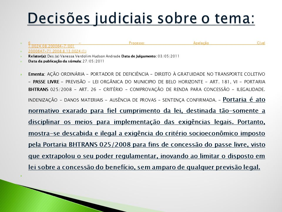  6 - Processo: Apelação Cível 1.0024.08.200064-7/001 6 - Processo: Apelação Cível 1.0024.08.200064-7/001  2000647-71.2008.8.13.0024 (1) 2000647-71.2