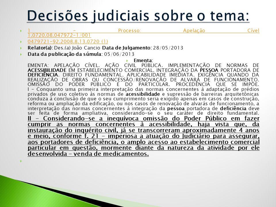  1 - Processo: Apelação Cível 1.0720.08.047972-1/001 1 - Processo: Apelação Cível 1.0720.08.047972-1/001  0479721-92.2008.8.13.0720 (1) 0479721-92.2