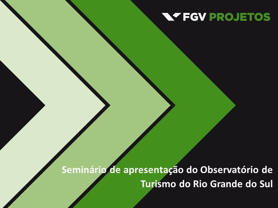 Seminário de apresentação do Observatório de Turismo do Rio Grande do Sul