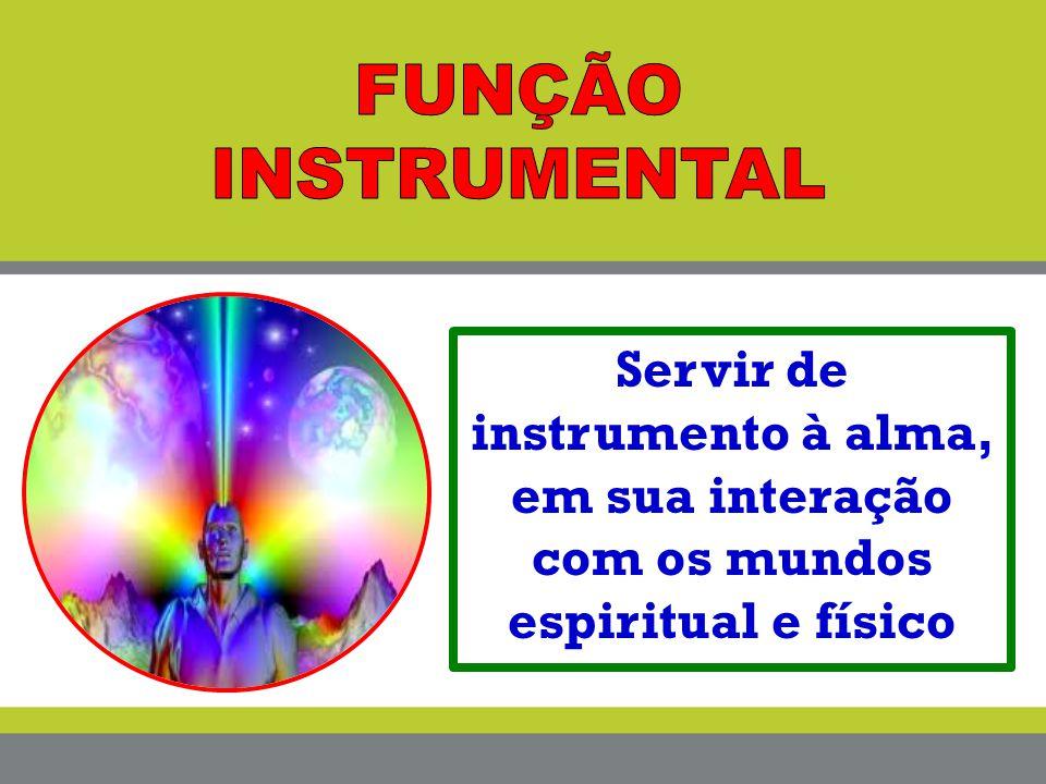Servir de instrumento à alma, em sua interação com os mundos espiritual e físico
