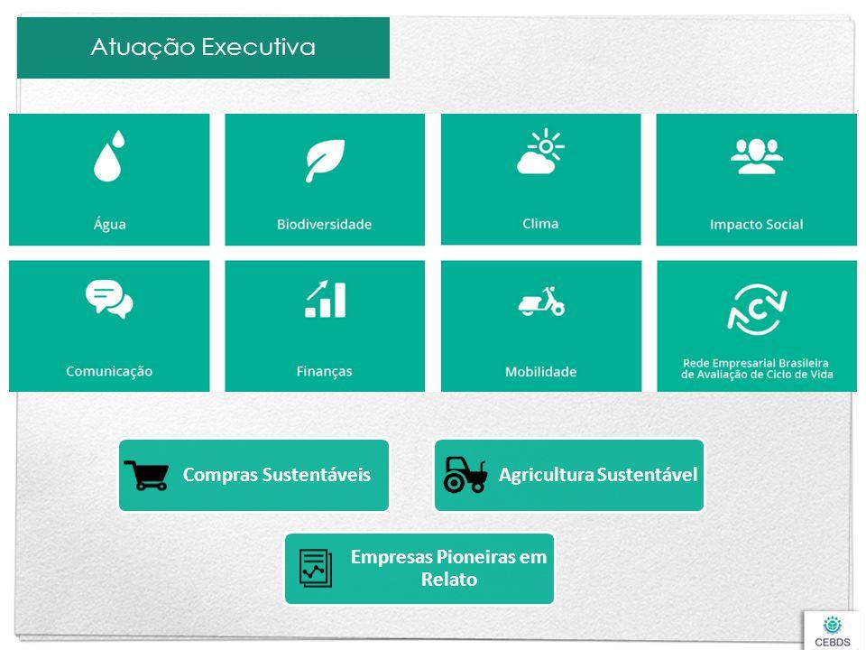 Atuação Executiva Compras Sustentáveis Empresas Pioneiras em Relato Agricultura Sustentável