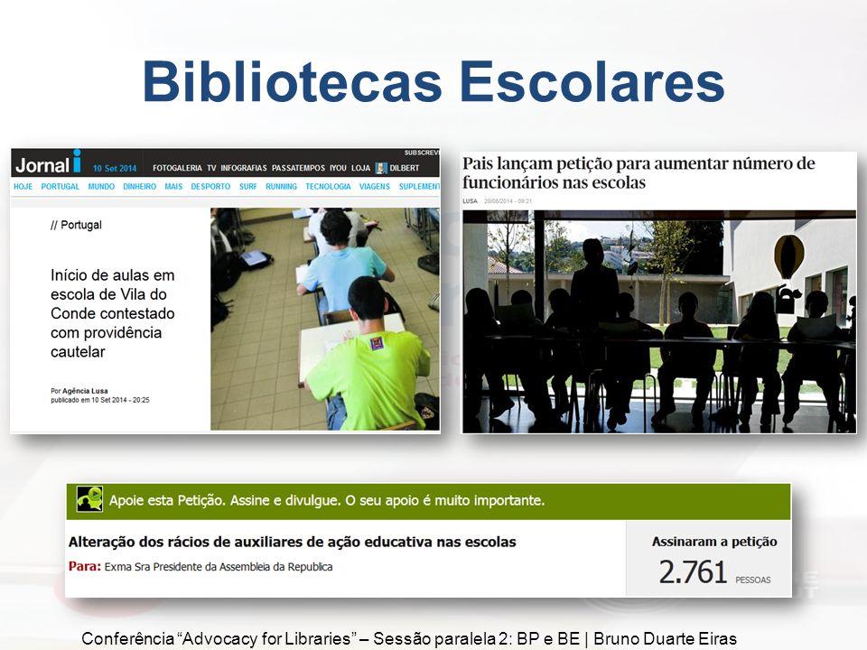 Biblioteca Municipal de Beja Conferência Advocacy for Libraries – Sessão paralela 2: BP e BE | Bruno Duarte Eiras