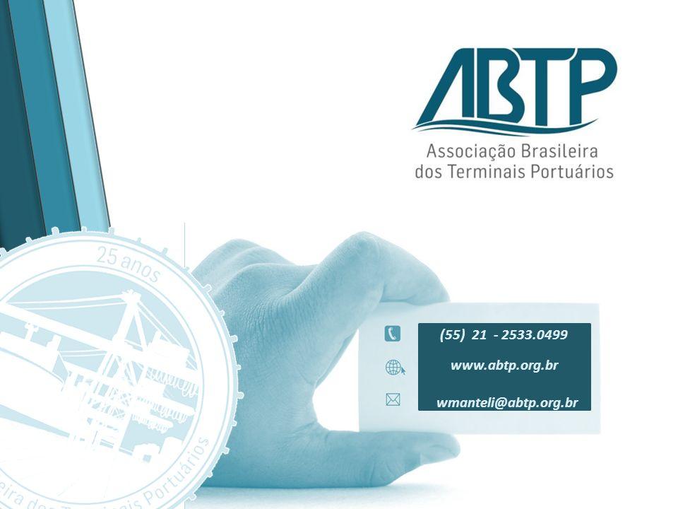 (55) 21 - 2533.0499 www.abtp.org.br wmanteli@abtp.org.br