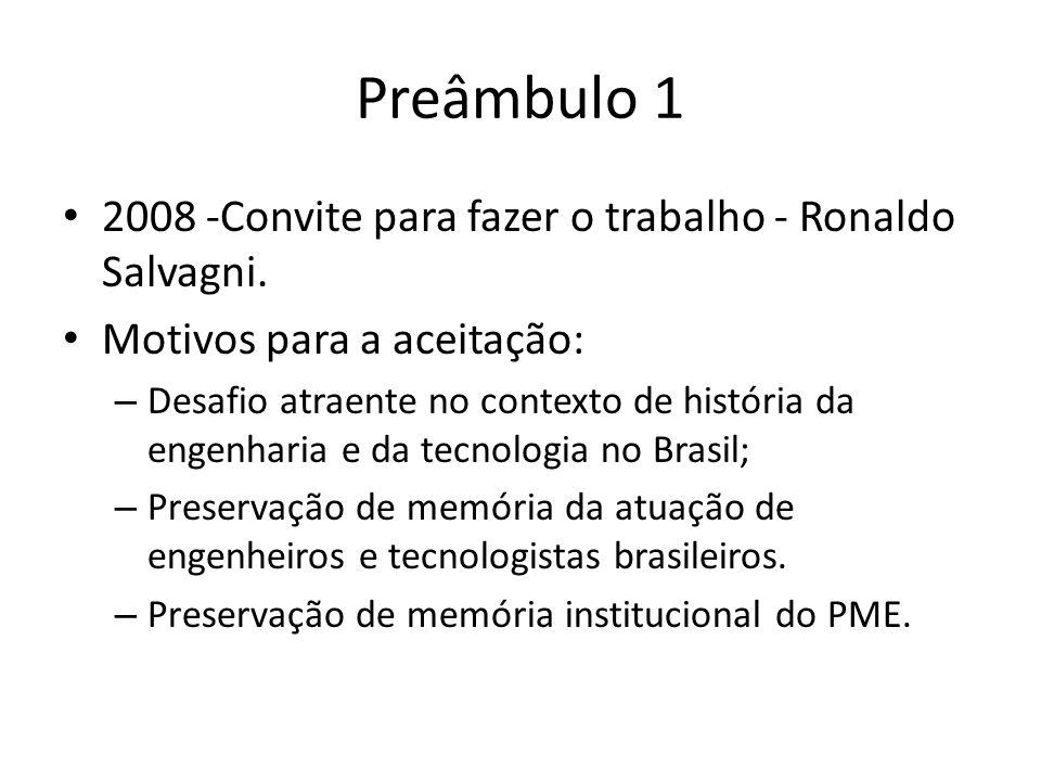 Preâmbulo 1 2008 -Convite para fazer o trabalho - Ronaldo Salvagni.